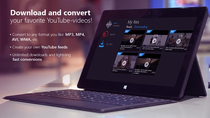 Download MP3 and MP4 from YouTube, SoundCloud, Vimeo, Dailymotion and Instagram
