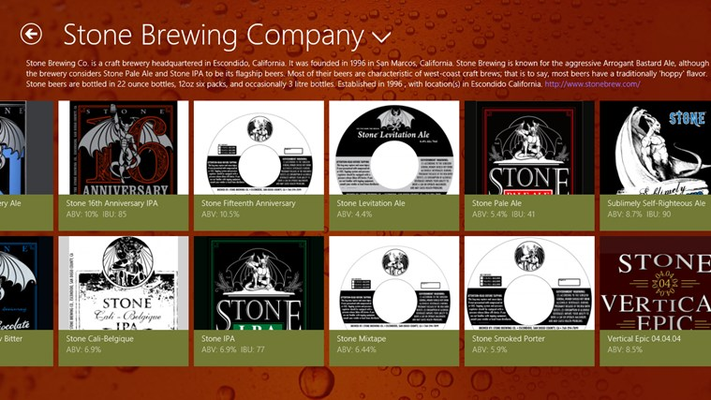 Like a particular brewery?  Learn about them and see what else they have to offer!