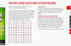 Rules page explaining the extra cage rules and solving strategies.