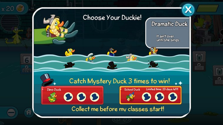 Earn Special Achievement Duckies!