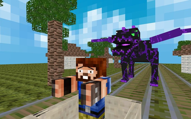 MineCart Survival - 3D Mine Cart Game for MineCraft for Windows 8