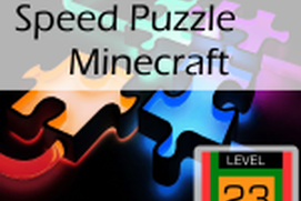 Speed Puzzle: Minecraft
