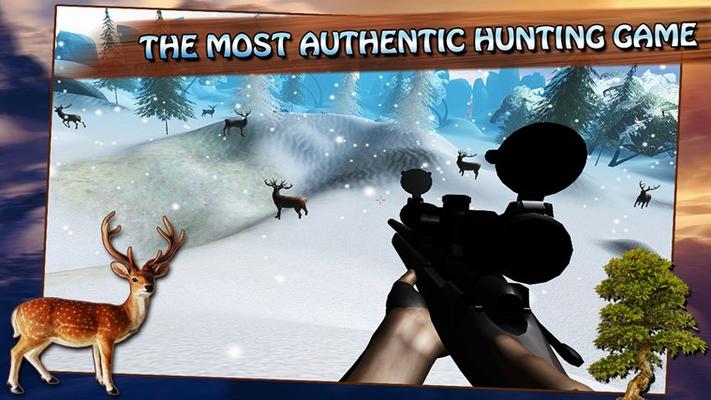 Snow Deer Hunter