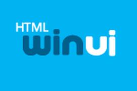 Infragistics WinUI HTML Controls