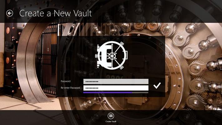 Create vaults easily.