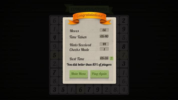 Sudoku - Pro for Windows 8