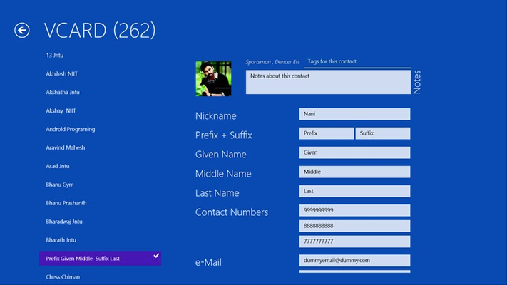 VeeCard for Windows 8