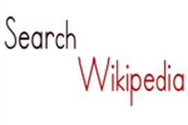 Wikipedia Search Box