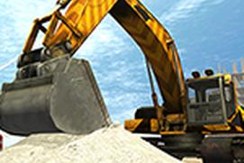 Excavator Crane Simulator - Buildings Construction