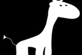 Giraffes can jump