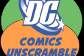 DC Comics Unscramble