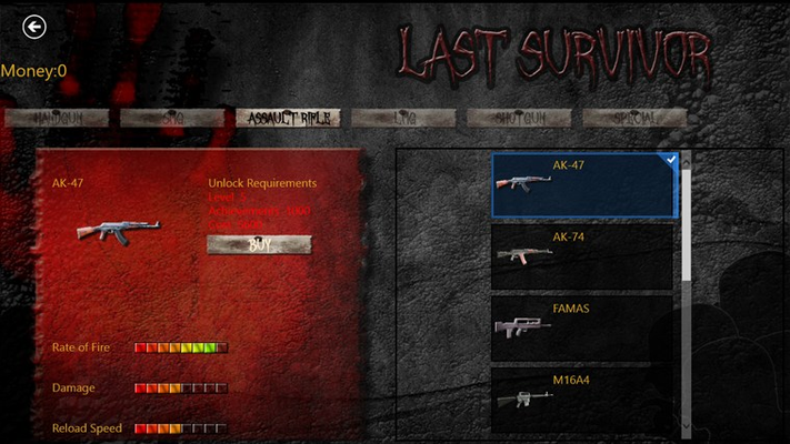 Famous AK-47 in the game