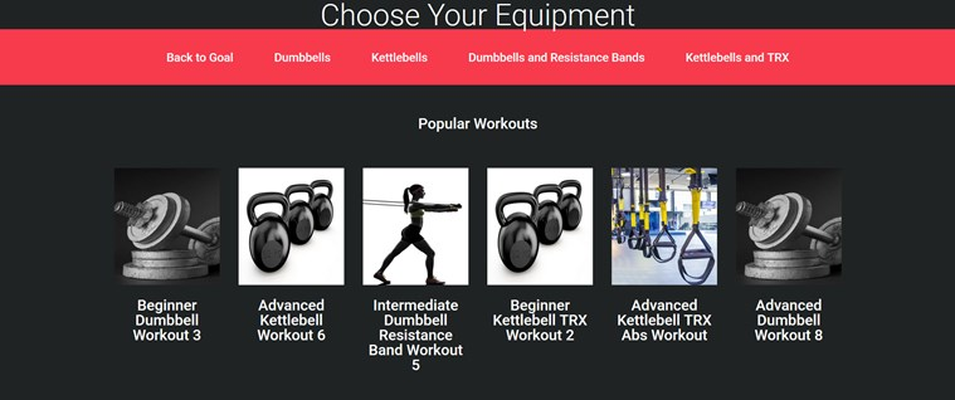 Choose Your Equipment