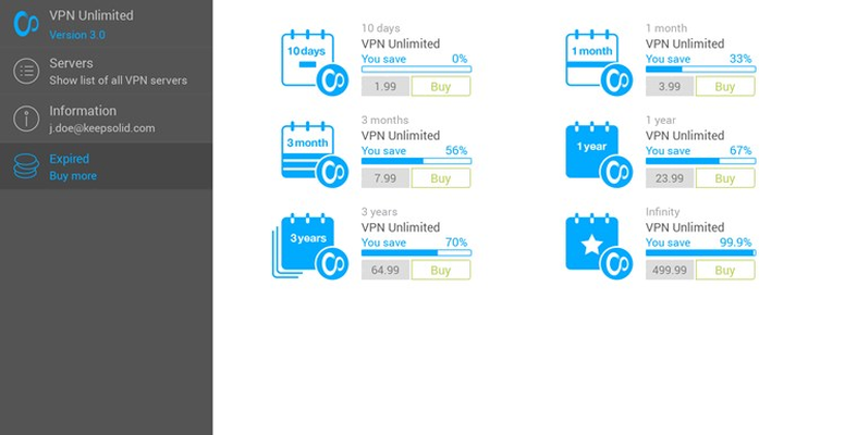 VPN Unlimited - Encrypted, Secure & Private Internet Connection for Anonymous Web Surfing for Windows 8