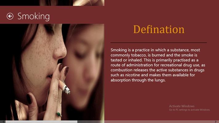 Detailed description and defination