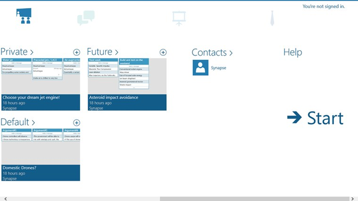 Synapse for Windows 8