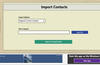 Easy to import and export contacts.