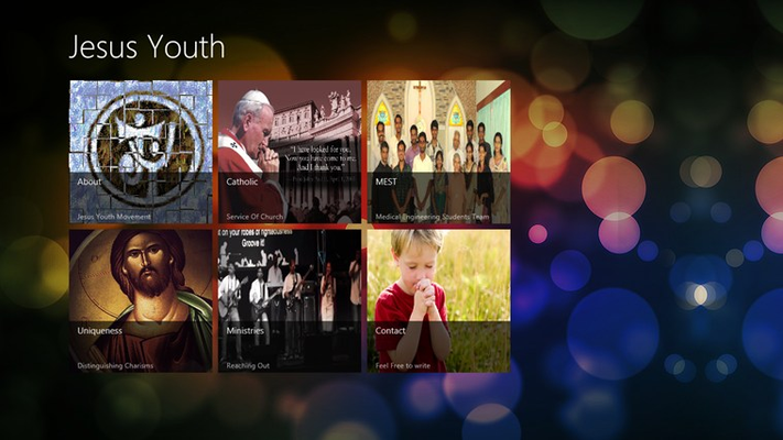Jesus Youth App will give information about the movement  its uniqueness and details.