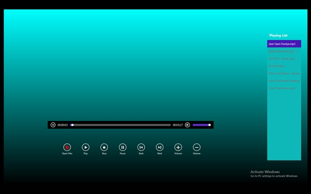 NCPlayer for Windows 8
