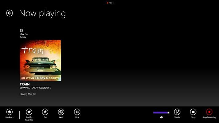 RADYO for Windows 8