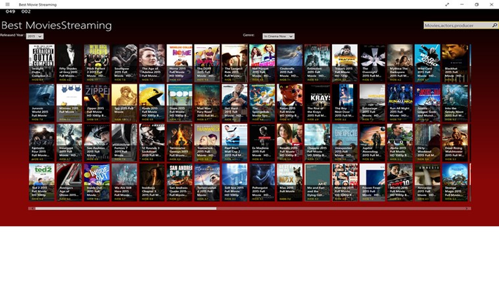 Best Movie Streaming for Windows 8