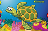 The tortoise from the sea animals theme.