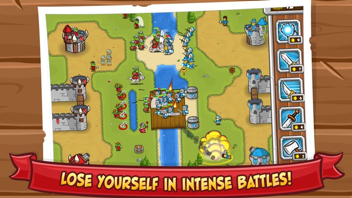 Lose yourself in intense battles!
