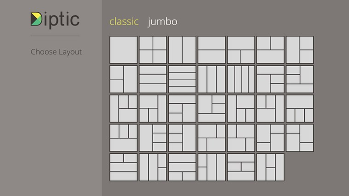 Choose from 75 layouts.