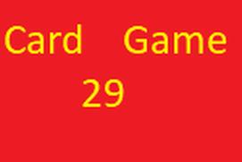 Card Game 29