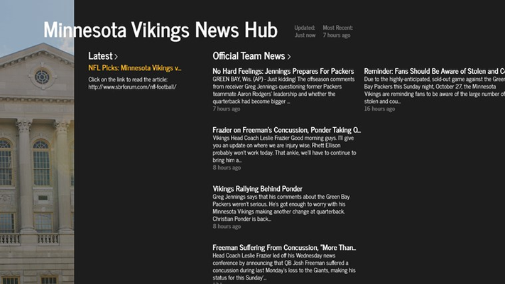 Latest news from the Minnesota Vikings NFL Team