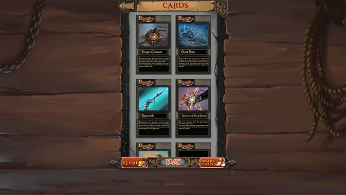 Collect a vast collection of collectable cards.