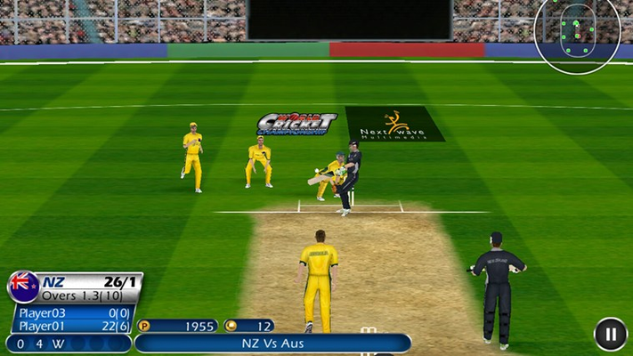 WCC - Game Screen