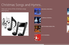 Some songs and hymns.