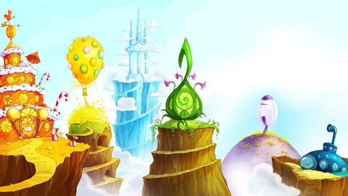 The Rainbow Dragons' Castles