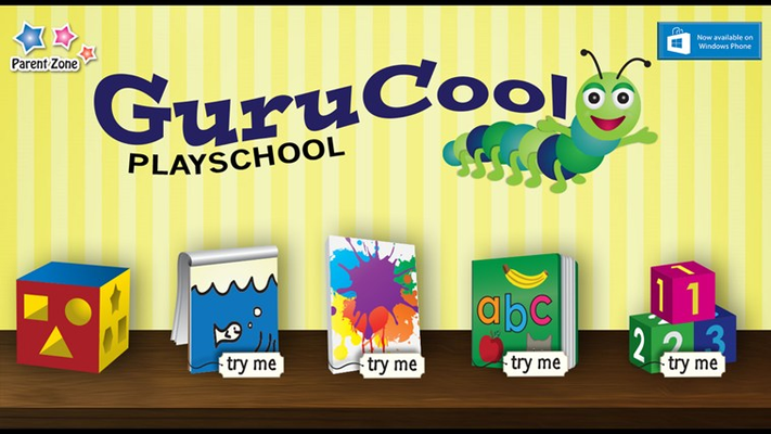 several other learning games in addition to the colors game