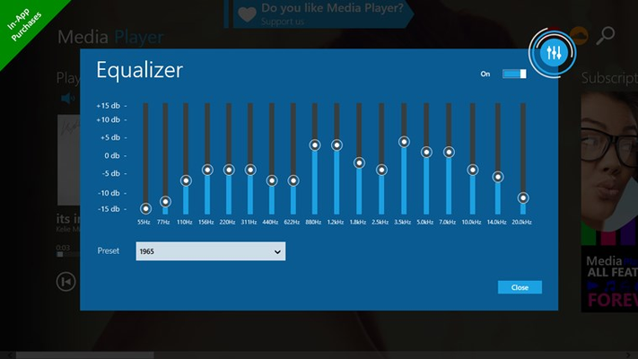Media Player for Windows 8