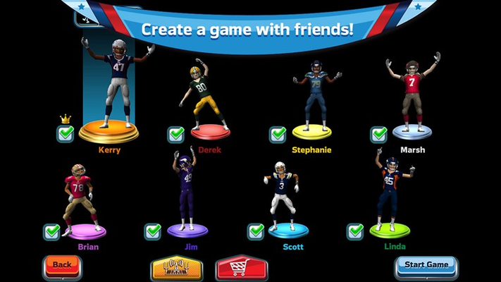 Create a game with friends!