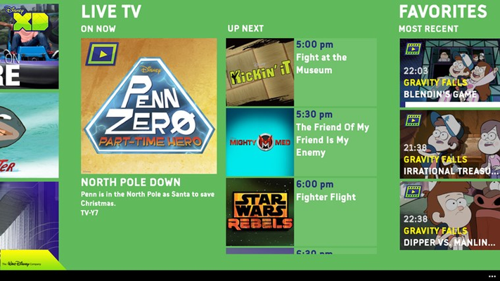 WATCH shows live on your mobile device!