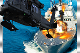 Navy Gunship Helicopter Shooting 3D