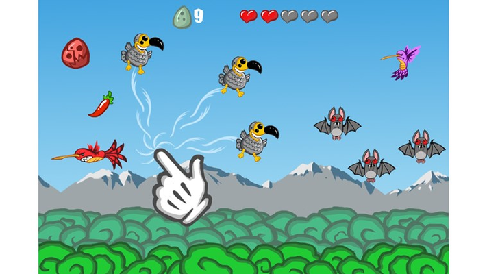 You can control multiple dodo's at the same time! Cool!