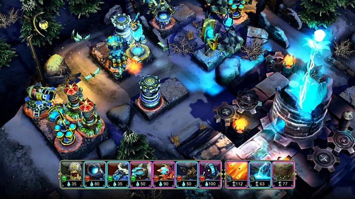Tower defense meets CCG