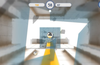Tap to throw balls, smashing glass and crystal obstacles in the way