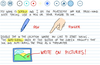 You can ink notes using a pen or your finger.