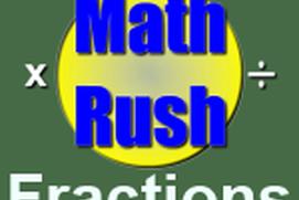 Math Rush Fractions