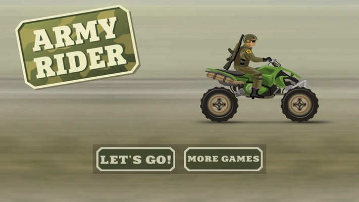 Ride through the courses as the Army Rider