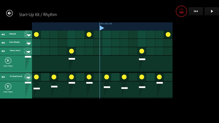 Musical Sketch Pad for Windows 8