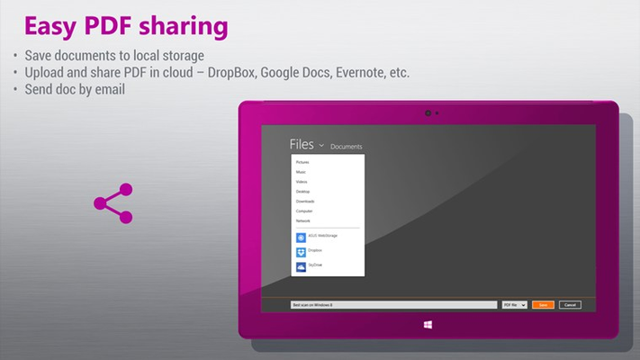 Easy PDF sharing