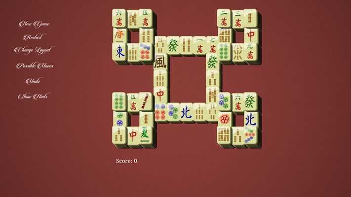 Free Mahjong Deluxe for Windows 8
