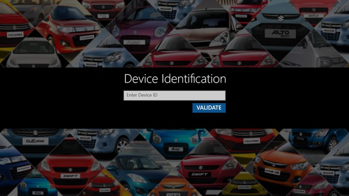 Device Authentication page