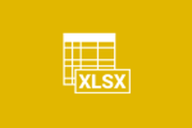 Open your XLSX File